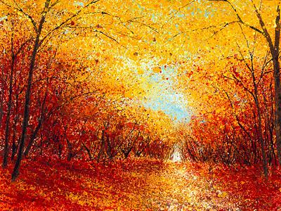 Autumn Clearing by Chris Bourne