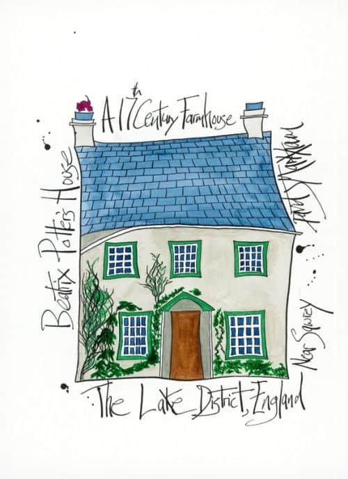 Beatrix Potter's House by Dave Markham