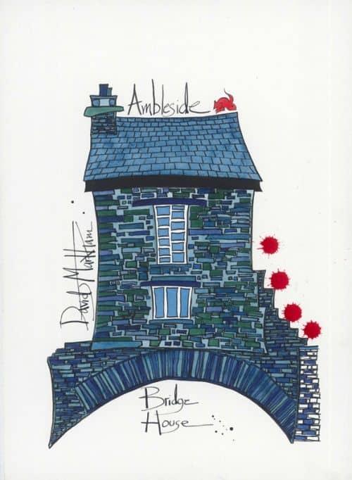 Bridge House Ambleside by Dave Markham
