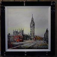 Crossing Westminster by Nigel Cooke