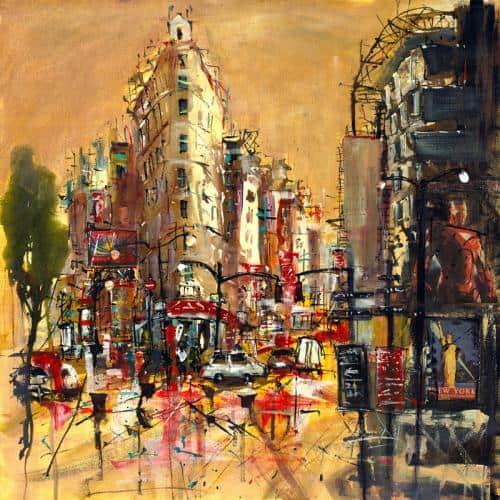 Flat Iron Building New York - Carol Mountford