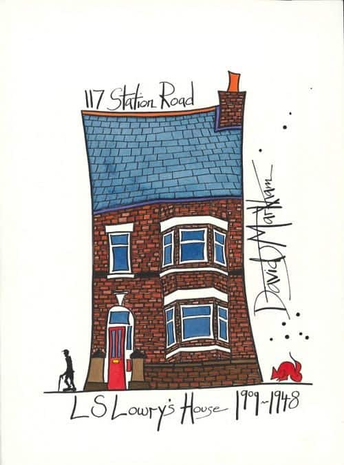 L S Lowry's House by Dave Markham