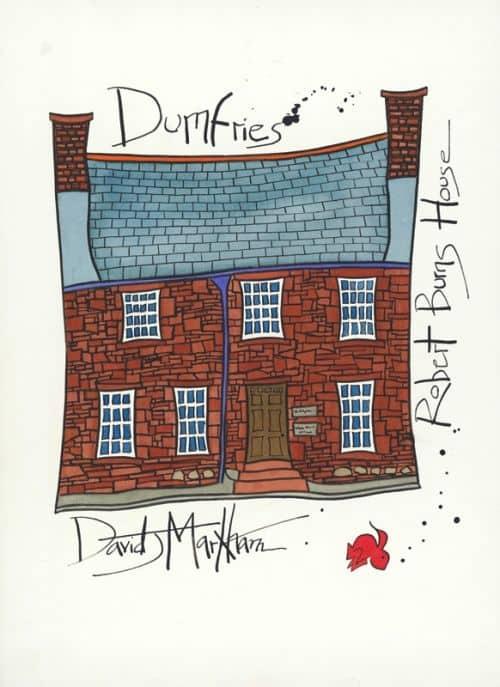 Robert Burn's House by Dave Markham