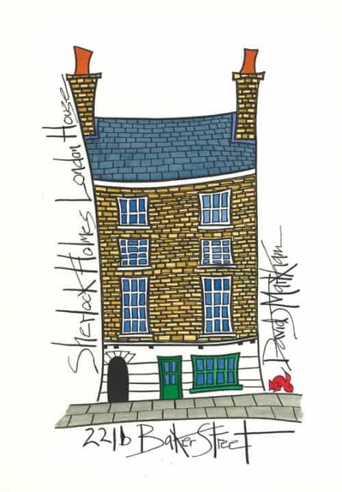 Sherlock Holmes House by Dave Markham