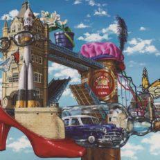 The Red Shoe - Alberto Martinez