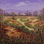 Through the Poppy Fields by Mary Shaw