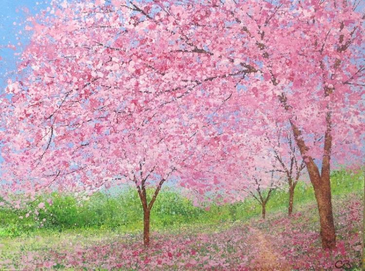 Blossom Path by Chris Bourne