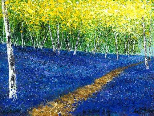 Bluebell Path - Chris Bourne