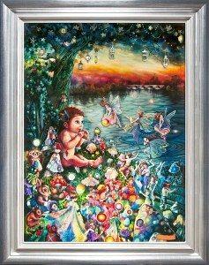 Peter Pan in Kensington Gardens by Kerry Darlington