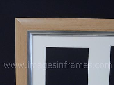Beech Silver 50cm x 40cm Multi Picture Frame (3)