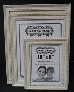 Ivory Distressed Picture Frame