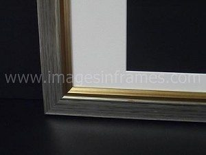 Silver/Gold 14″x11″