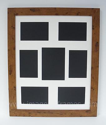 Teak Effect 50cm x 40cm Multi-Picture Frame (3)