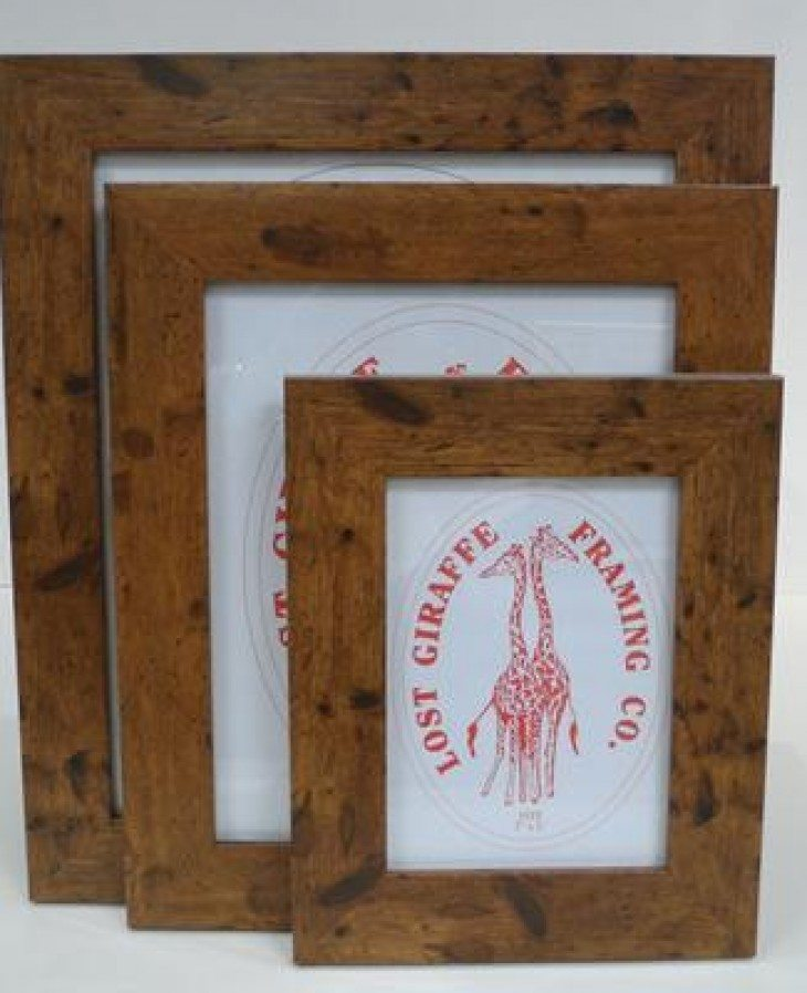 Teak Wood Effect Picture Frame