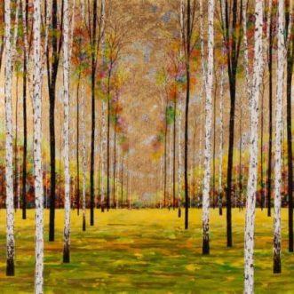 Silver Birch Original by Alex Jawdokimov