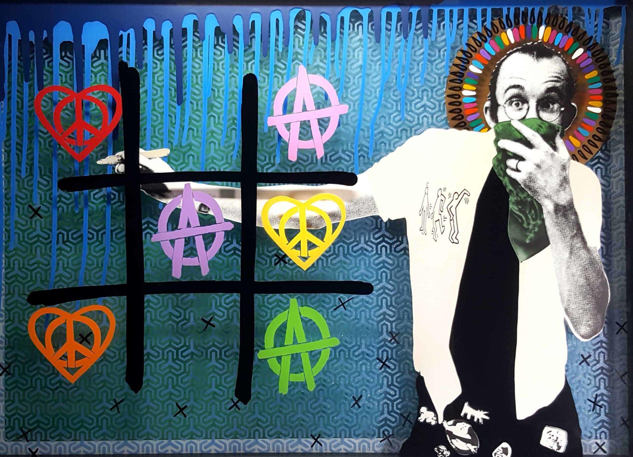 Keith Haring Original