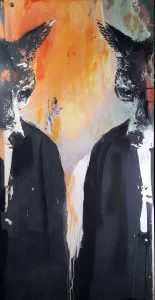 The Krays AM Original By Harry Bunce Artist