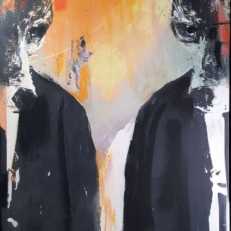 The Krays AM Original By Harry Bunce Artist