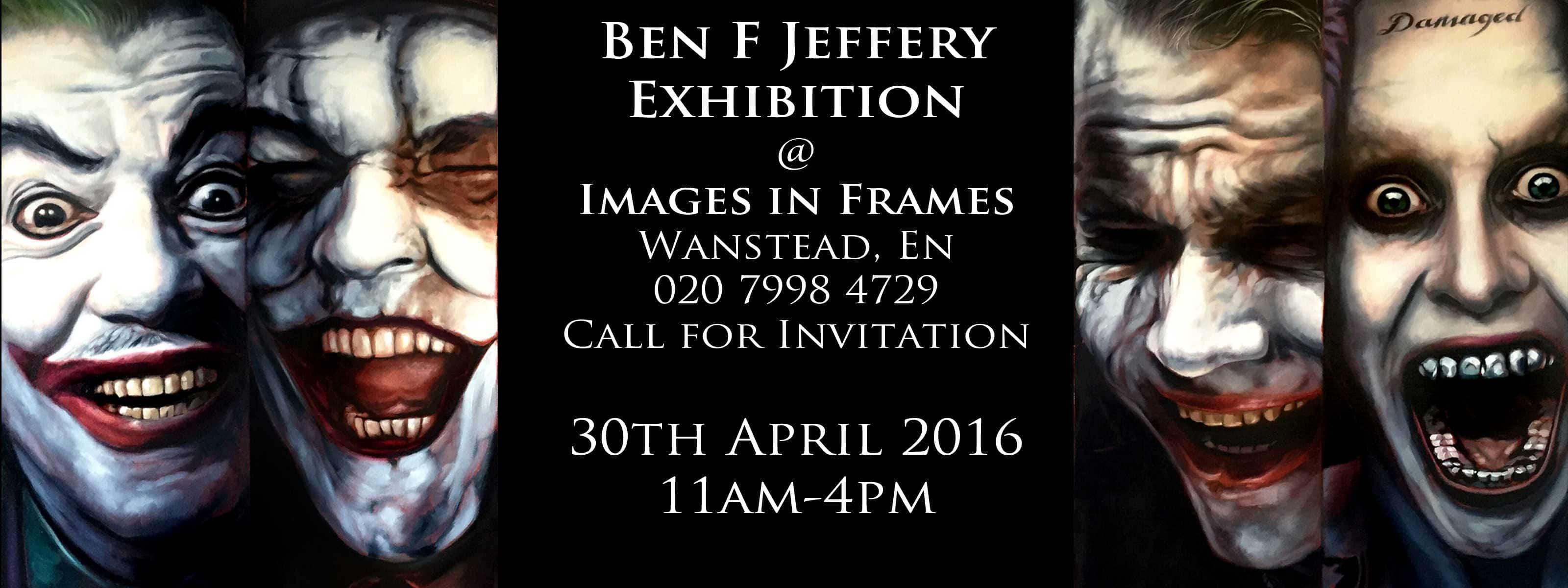 Ben Jeffery Artist