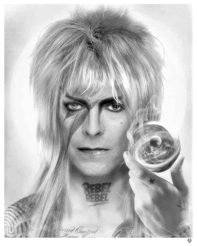 The Goblin King (B&W)