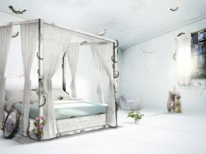Where Demons Roam By Mark Davies - Sleeping Beauty- from Images in frames