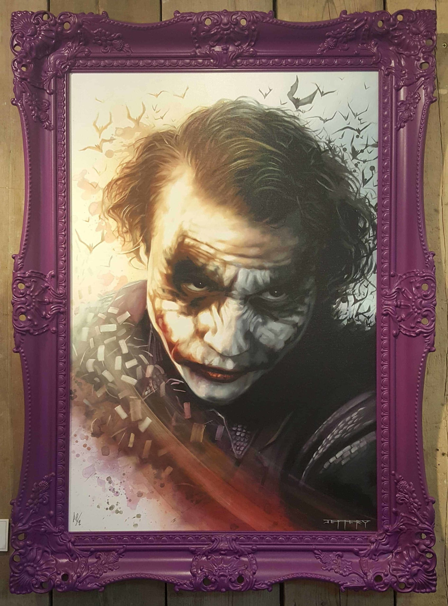 Agent of Chaos Purple Frame by Ben Jeffery