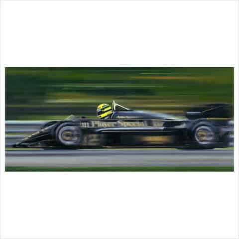 Aryton Senna-On the limit by Anthony Dobson
