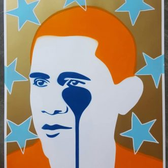 Crying Obama-Postcard to Cuba by PureEvil