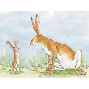 Guess How Much I Love By Anita Jeram - Tiptoes