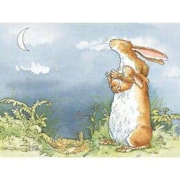 Guess how much i love-right up to the moon by Anita Jeram