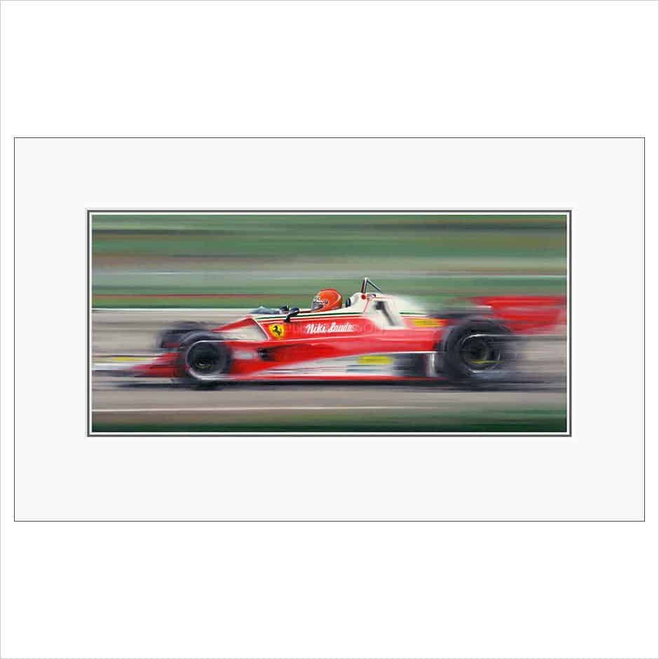 Nikki Lauda on the limit by Anthony Dobson