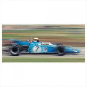 Jackie Stewart on the limit by Anthony Dobson