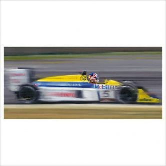 Nigel Mansell On the limit by Anthony Dobson