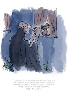 He poured the Precoius Dream by Quentin Blake