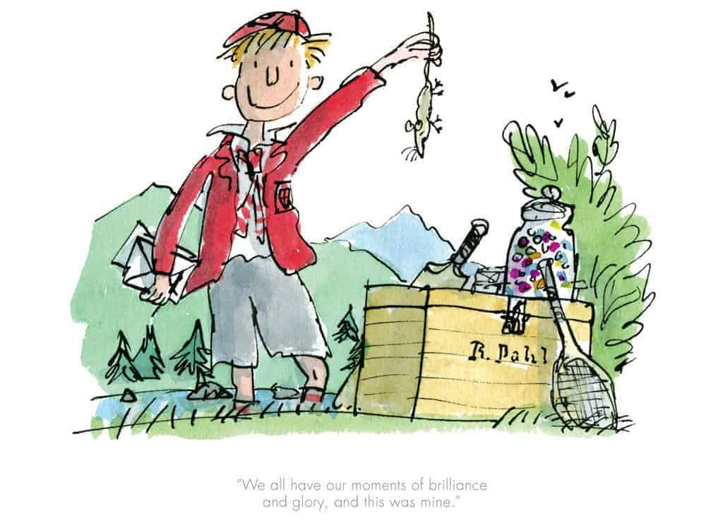 We all have our moments of brilliance by Quentin Blake