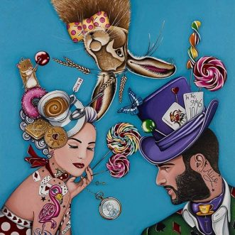 The Hatter's Tea Party By Marie Louise Wrightson