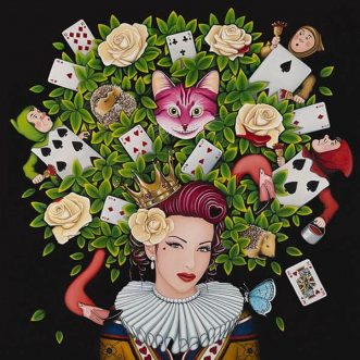 The Queen of Hearts by Marie Louise Wrightson