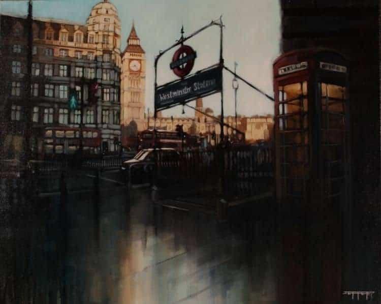 Westminster Station By Ben Jeffery