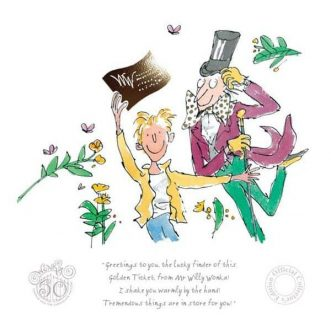 Charlie & the chocolate factory 50th edition by Quentin Blake