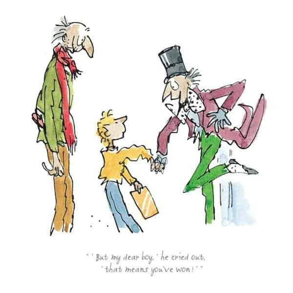 That Means You've Won By Quentin Blake