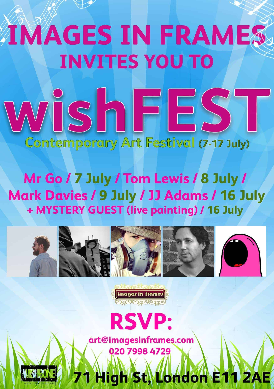 wishFEST art frestival poster