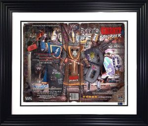 Knights Of Disorder Framed By JJ Adams Artist