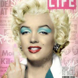 Warho's Marilyn By JJ Adams Artist