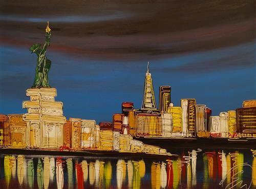Freedom Tower By Edward Waite Artist