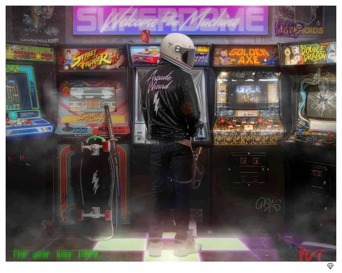 Arcade Wizrd By JJ Adams