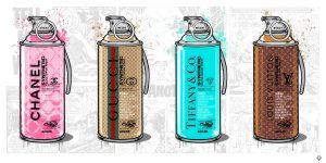 Brand Grenade Large By JJ Adams Artist