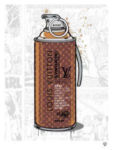 Lousi Vuitton Brand Grenade By JJ Adams