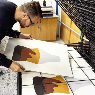 Simon Freeborough Artist
