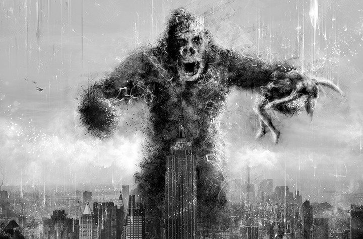 Kong (King Kong) By Mark Davies