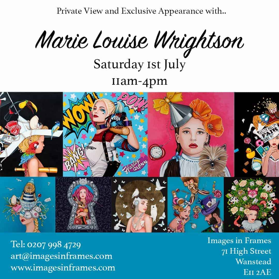 Marie Louise Wrightson Exhibition